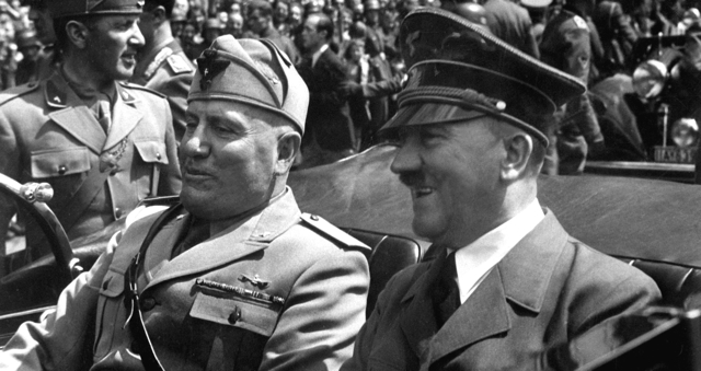 photo: Hitler and Mussolini, June 1940